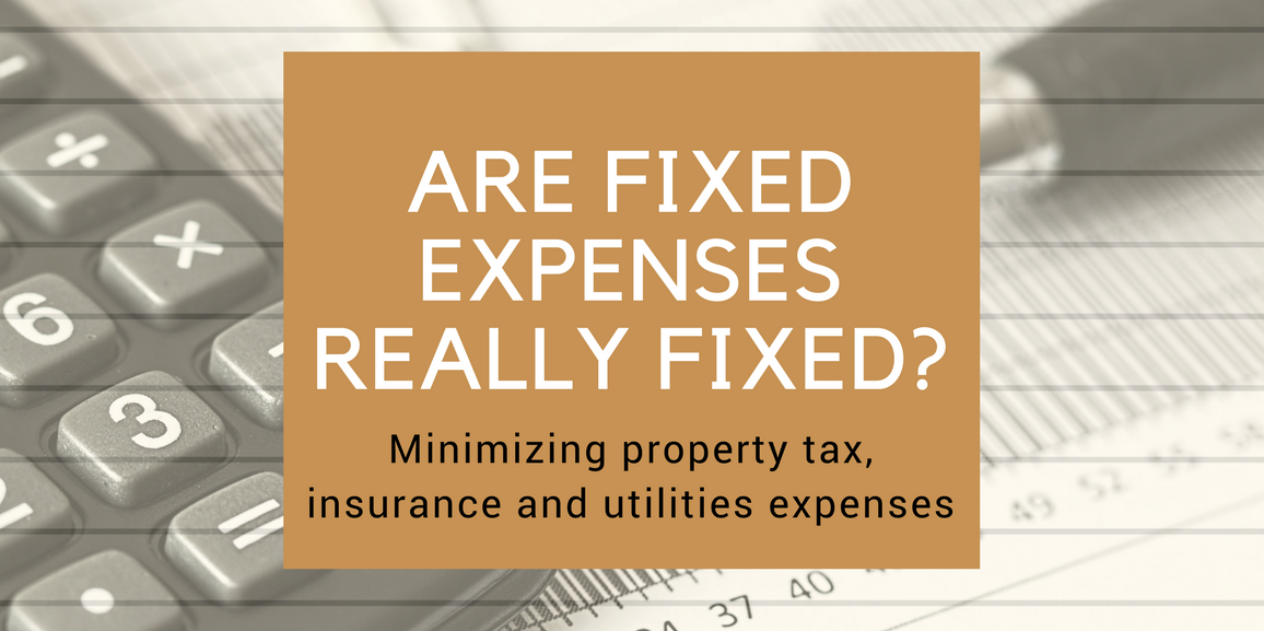 Are Fixed Expenses Really Fixed?