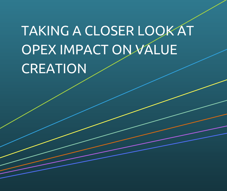 OPEX Impact on Value Creation